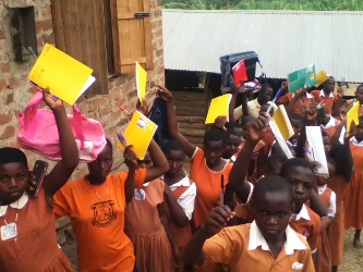 Supporting rural school children in Uganda